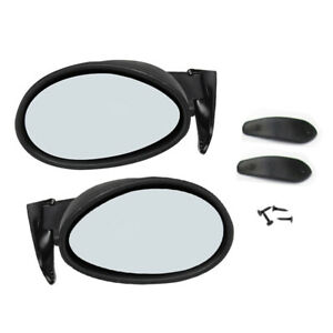 2x Vintage Style Classic Car Door Side View Mirror Front Wing Mirror Universal