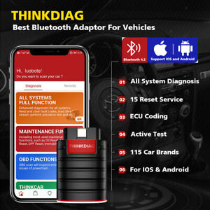 Original Launch Thinkdiag Obd2 Diagnostic Scanner With One Free Software demo