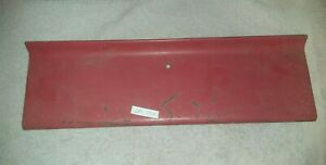 Vintage Oem 1956 Ford Pickup Panel Truck Parts Glove Box Red Door Cover Lid