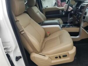2014 Ford F150 Lariat Passenger Right Front Bucket Seat Tan Leather Power