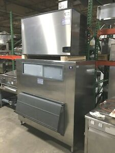 Ice Maker Manitowoc Production 1810 Lb Per Day Remote Air Cooling