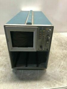 Vintage Tektronix Model 7633 100mhz Oscilloscope Mainframe Cool Old Decor Prop