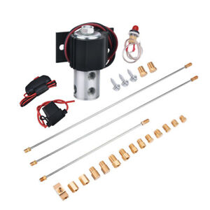 Front Brake Line Lock Roll Control Brake Line And Fitting Assembly Install Kit
