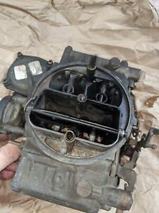 Used Holley 7053 1 600 Cfm Carburetor Parts Or Rebuild Seems Complete Marine
