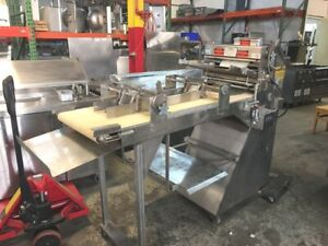 Sheeter Dough Roller Molder For Breads And Baguettes Acme