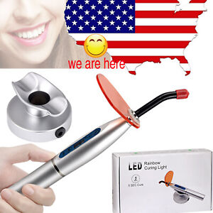1pc Dental Led Curing Light Lamp Composite Resin Cure Cordless Wireless 5w Usa