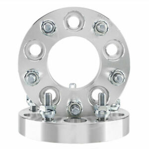 2p 1 25mm 5x4 5 To 5x4 75 Adapter Wheel Spacers 12x1 5 Studs For Ford Chevy Gmc