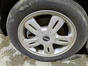 2004 2005 2006 2007 2008 2009 Mini Cooper Aluminum Alloy Wheel 15 no Tire
