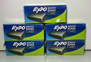 5 Pack Expo White Board Care Eraser 81505 Brand New Free Shipping