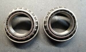2 X Lm603012 2 X Lm603049 Timken Carrier side Bearings Races Ford 8 8 In gm 12