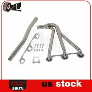 Chrome Stainless Racing Header Exhaust For Mg Mgb 1962 1963 1980 1 8l L4