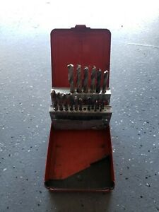 Mac Tools 21 Pc Cobalt Grade Drill Bit Set 6321dsa Partial Set