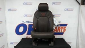 15 Ford F150 King Ranch Left Driver Front Seat Brown