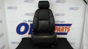 13 Cadillac Escalade Premium Front Left Driver Power Heated Seat Black Leather