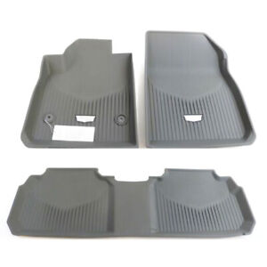 Gm Oem 2020 2021 Cadillac Xt5 All Weather Front Rear Floor Mats Gray 84286845