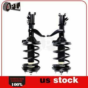 For Honda Element 2003 2011 Front Pair Complete Struts Shocks W Springs Assembly