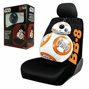 Star Wars Bb 8 Car Seat Cover Universal Fit Low Back Bucket Seats 1 Piece Disney