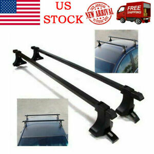 Universal Car Top Roof Rack Cross Bar 54 Luggage Carrier Aluminum W Lock