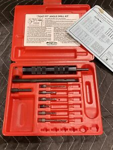 Blue Point By Snap On Tools Tight Fit 90 Angle Drill Kit Ya409