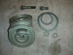 Corvair All Year 90 Oil Filter Adapter And Both Bolts And All Seals