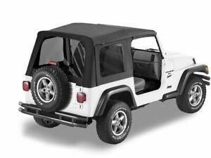 Soft Top For 1997 2002 Jeep Wrangler 1999 1998 2000 2001 J156dq