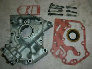 Corvair 62 69 Oil Pump Housing With Pump Set 003 New Seal 2 Gaskets 7 Bolts