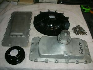 Corvair 64 69 Big Bearing Mag Fan Engine Top Cover Services Good Bearing