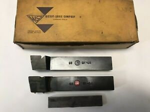 2 Wendt sonis Carbide Lathe Cutter Bits Gr 64 Cy5 Machinist