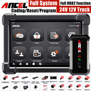 Diesel Heavy Truck Diesel Obd2 Scanner Diagnostic Tool Code Reader Abs Dpf Oil