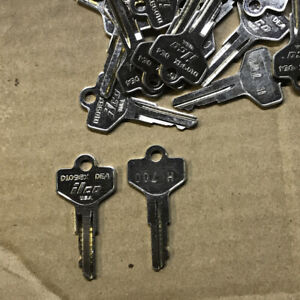 Us Wwii Truck And Jeep Standard Key H700 Fits Mb Gpw Wc Dodge Cckw