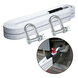 5 Meters Towing Ropes With Hook For Car Truck Trailer Rescue Equipment