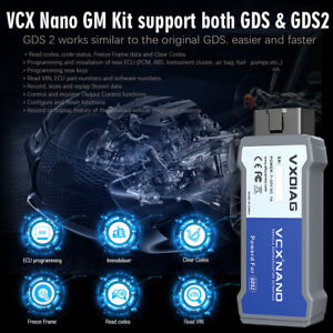 Fit For Gm opel Scanner Programmer Obdii Diagnostic Tool Vxdiag Vcx Nano Usa