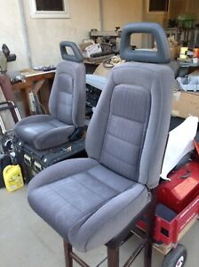 1985 1986 Mustang Gt lincoln Oem Factory Front Seats Assembly