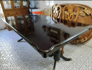 Dining Table Sets Cherry Set 6 Chairs