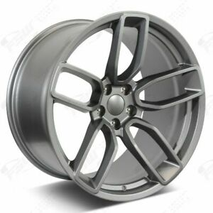 20 Gunmetal Wheels Fits Dodge Charger Challenger Magnum