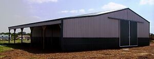 Pole Barn 40x60x12 15 Shed Post Frame Building Plans E file As Pdf Or Word Doc