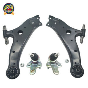 Front Lower Control Arm Ball Joint Lh Rh Pair Set 4pc For Highlander Rx350 Venza