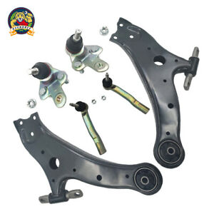 Control Arm Kit For 2008 2016 Toyota Highlander Front Left And Right 6pc