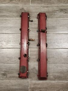 Rare Nissan R31 Rb20 Finned Valve Covers Rb26 R32 Valve Cover Finned