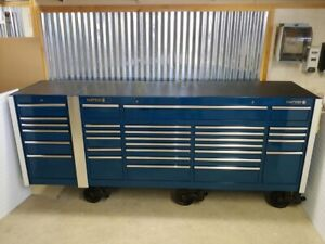 1998 Matco 5 Bay 32 Drawer 114 Long Rollaway Tool Chest Box Excellent Condition