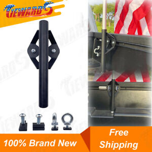 Truck Bed Rail Flag Pole Mount Holder Fit For Toyota Tacoma Tundra