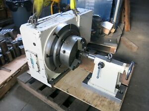 Tsodakoma 20 Cnc 4th Axis Rotary Table With Tailstock