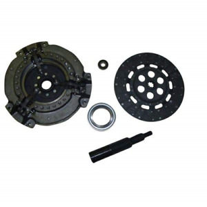 Complete Tractor 1212 1420 Clutch Kit For Massey Ferguson Tractor 135 150 Black
