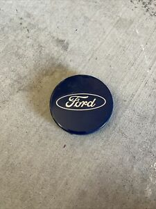Center Caps 2 1 2 Ford F 150 Expedition Blue Oem fl34 1a096 ca