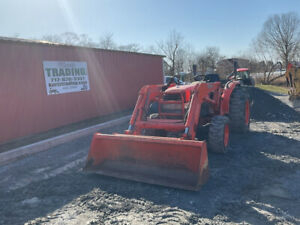 2008 Kubota L5030 4x4 Hydro Compact Tractor W Loader Only 2200 Hours