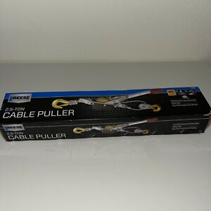Reese Secure 2 5 Ton Cable Puller Brand New