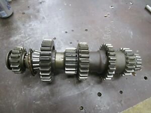 1941 John Deere Mid Styled B Transmission Complete Lower Gears Antique Tractor