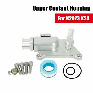 Upper Coolant Housing With Straight Inlet For Honda Acura K20 Z3 K24 K Series