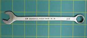 Vintage Cornwell Usa 29 Cws1616 1 2 Combination Open End 6 Point Box