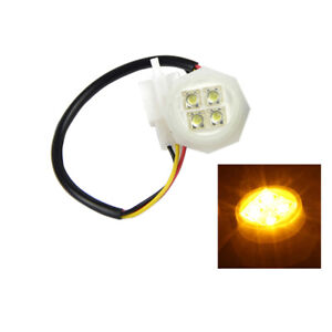 Xprite Amber Led Hideaway Strobe Light Bulb Replacement Lights Head Assembly